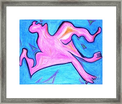 You Sexy Beast Framed Print by Lois Picasso