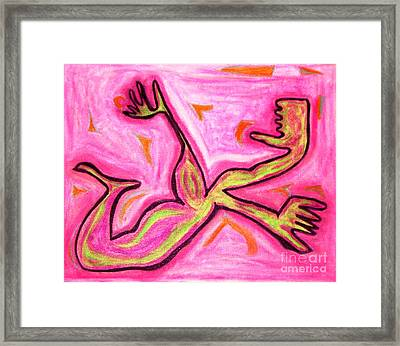 You Sexy Beast Too Framed Print by Lois Picasso