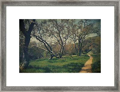 You Smiled And I Knew Framed Print by Laurie Search