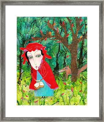 You Sure Are Looking Good Framed Print by Joann Loftus