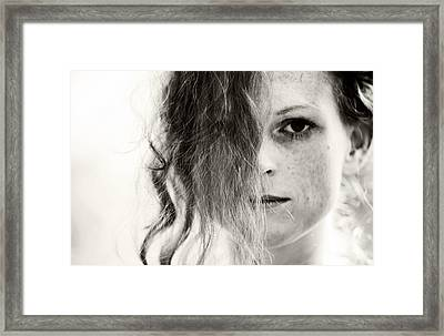 You Tell Me Framed Print by Jenny Rainbow