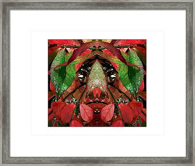 You Title It.  Depends On What  You See. Framed Print