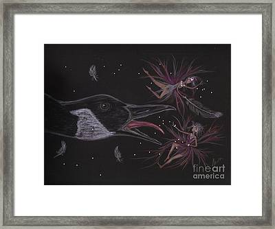You Told Me You Spoke Goose Framed Print