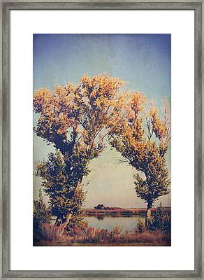 You Were Meant For Me Framed Print by Laurie Search
