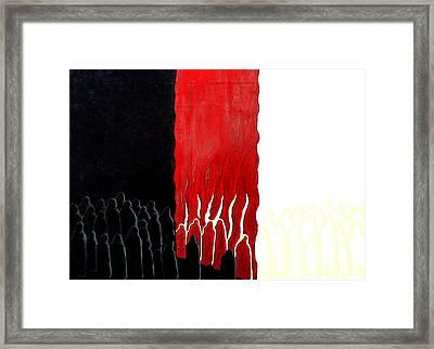 You Were There Framed Print by Sandra Yegiazaryan