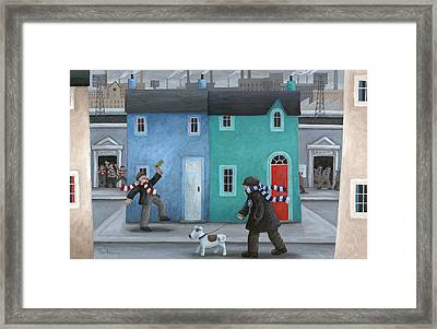 You Win Some You Lose Some Framed Print by Peter Adderley