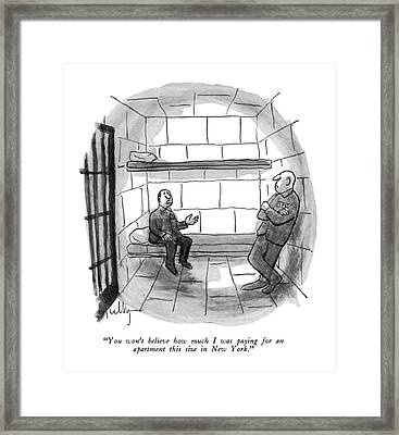 You Won' T Believe How Much I Was Paying For An Framed Print by James Mulligan