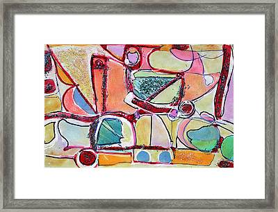 You'll Know When You Get There Framed Print by Hari Thomas