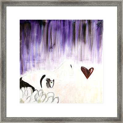 Young And Beautiful Framed Print by Katy  Scott