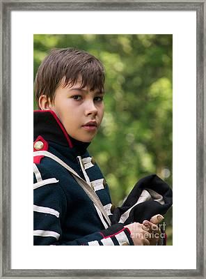 Young Artilleryman Framed Print by Aleksey Tugolukov