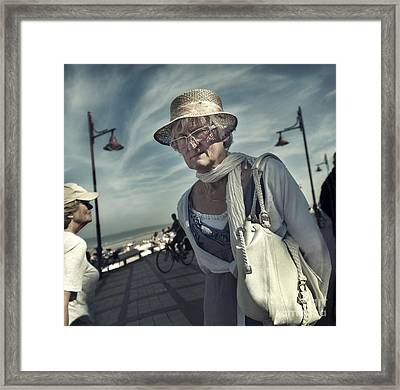 Young At Heart Framed Print by Michel Verhoef