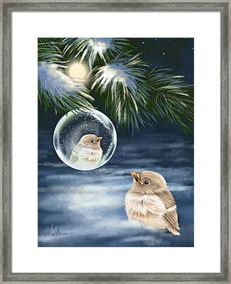 Young Bird Framed Print by Veronica Minozzi