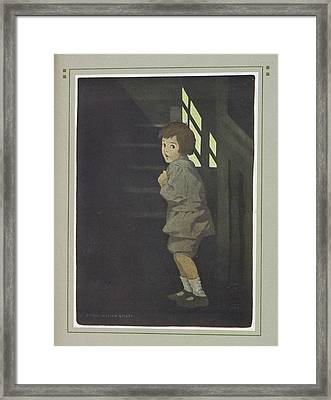 Young Boy Framed Print by British Library