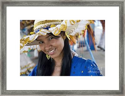 Beautiful Women Of Brazil 3 Framed Print by David Smith