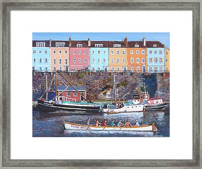 Young Bristol Framed Print by Tomas OMaoldomhnaigh
