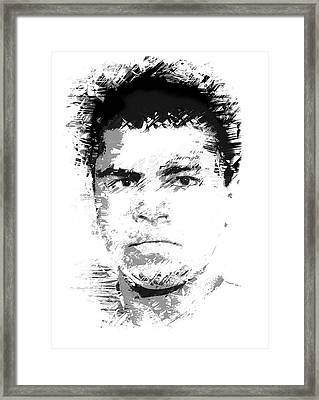 Young Cassius Clay Framed Print by Daniel Hagerman