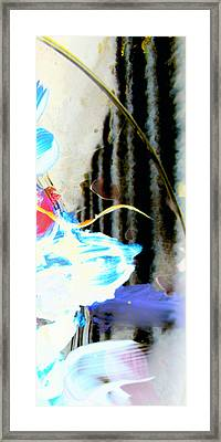Framed Print featuring the digital art Young Elegance by Christine Ricker Brandt