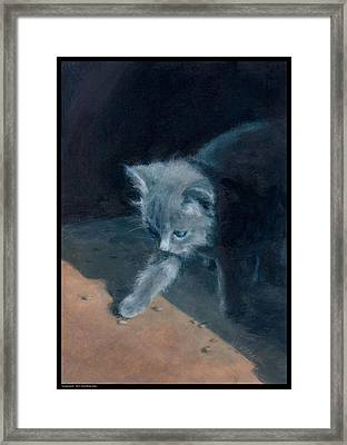 Young Explorer Framed Print by Diana Moses Botkin