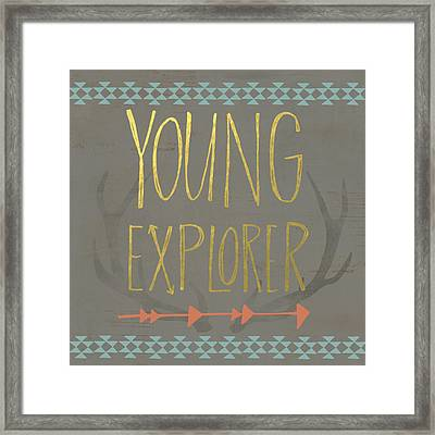 Young Explorer Framed Print by Katie Doucette