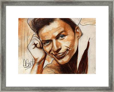 Young Frank Sinatra Framed Print