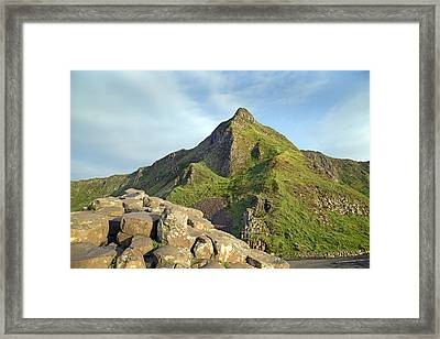 Young -- Giant's Causeway -- Ireland Framed Print