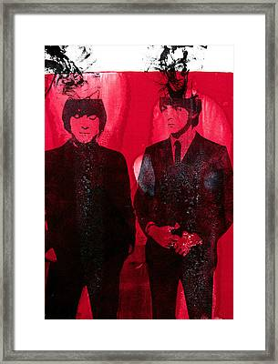 Young Gs Framed Print by Molly Picklesimer