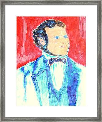 Young John Taylor Destined To Be Prophet Of God 1 Framed Print