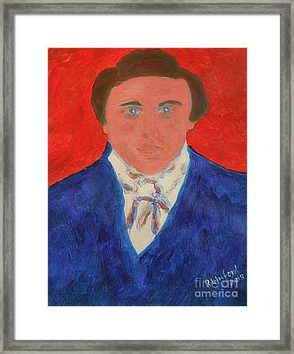 Young Joseph Smith Junior 1 Framed Print by Richard W Linford