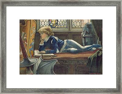 Young Lancelot Framed Print by H. Randolph Rose
