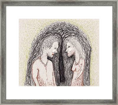 Young Love Framed Print by Jim Taylor