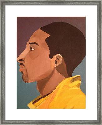 Young Mamba Framed Print by Brandon King