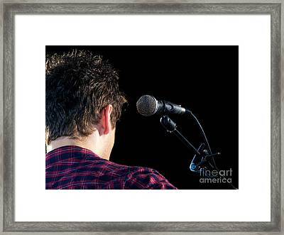 Young Musician Framed Print by Sinisa Botas