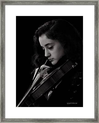 Young Musicians Impression #29 Framed Print