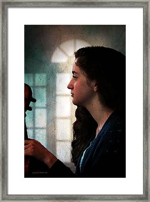 Young Musicians Impression #46 Framed Print