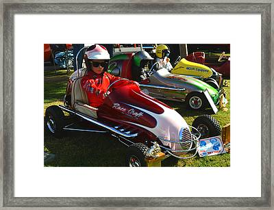 Young Racers Framed Print by Bill Dutting