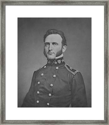 Young Stonewall Jackson  Framed Print by War Is Hell Store