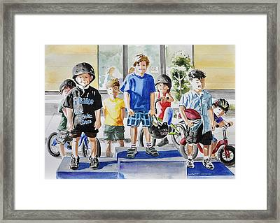 Young Winners Framed Print