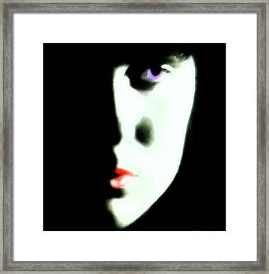 Young Woman  C# 52 Framed Print