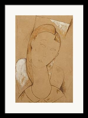 Clemente Drawings Framed Prints
