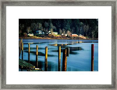 Young's River Settlement 1 Framed Print