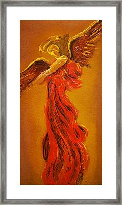 Your Angel Is Waiting Framed Print