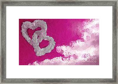 Your Body Red Framed Print