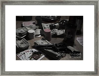 Your Cheatin Hearts Framed Print by Art Whitton