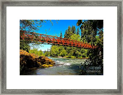 Your Crossing  Framed Print by Tim Rice