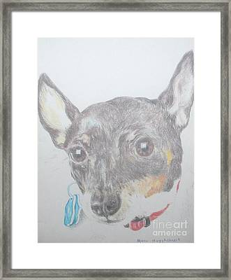 Your Cutiepie Framed Print by PainterArtist FINs husband MAESTRO