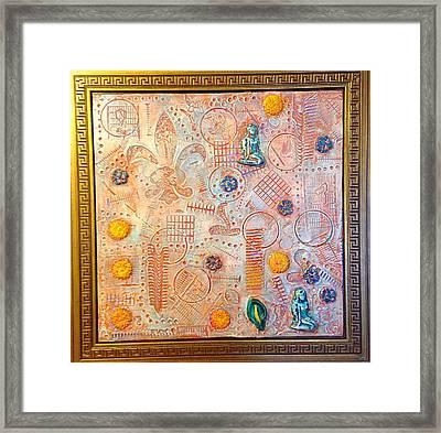 Your Decepting Confusing Lies By Alfredo Garcia Art Framed Print by Alfredo Garcia