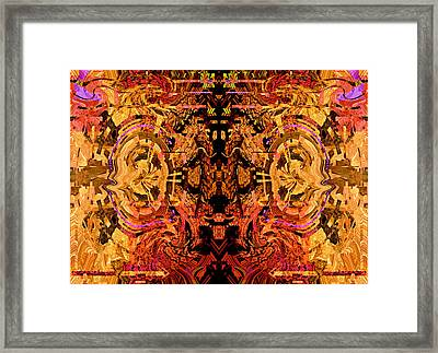 Your Flaws Are Perfected 2013 Framed Print by James Warren