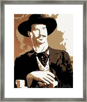 Your Huckleberry Framed Print