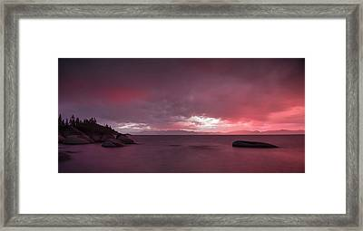 Your Innocent Smile Used To Drive Me Wild Framed Print by Peter Thoeny