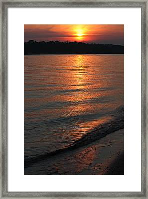 Your Moment Of Zen Framed Print by Julie Andel